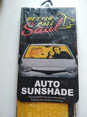 Rare Better Call Saul Breaking Bad Sunshade -  Car Windshield Sun Shade