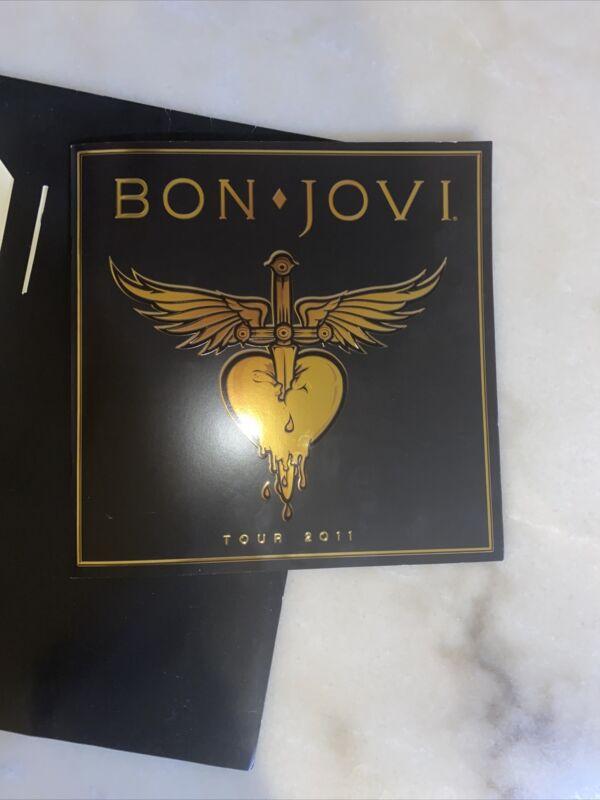 """2011 Bon Jovi """"Tour 2011"""" Program"""