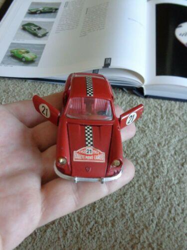 MATTEL MEBETOYS 1/43 SCALE RED PORSCHE 912 A-12 DIECAST CAR-ITALY Monte Carlo