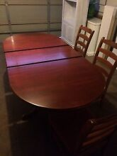 Dining table and chairs Gungahlin Gungahlin Area Preview