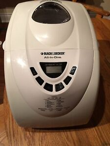 Black & Decker All in One Bread Machine West Island Greater Montréal image 1
