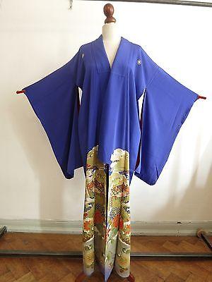 Kimono Tomesode Seide aus Japan 1910〜 Seide Art Deco handgenäht Antik Kimono