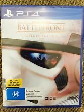 PS4 Star Wars Battlefront Delux Ed [BRAND NEW] Earlwood Canterbury Area Preview
