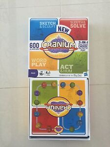 """""""New Cranium"""" second version of a popular board game - used once Mount Pleasant Melville Area Preview"""