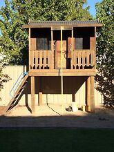 Aaron's Outdoor Cubby House Rochester Campaspe Area Preview