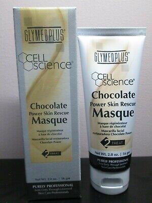 GLYMED PLUS cell science chocolate power skin rescue masq 2fl.oz/56gm