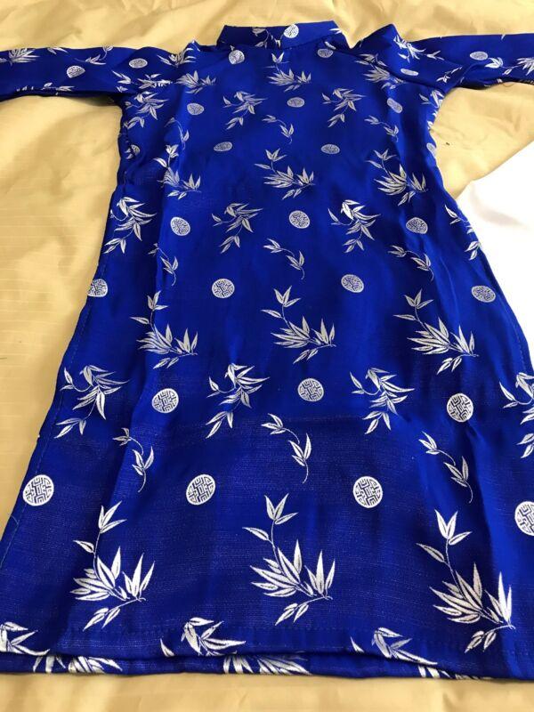 Vietnamese Ao Dai Girl/'s Blue Size 6 /& 9 3 Piece Set