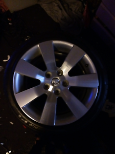 Holden 18inch rims with sare new tyre Wollert Whittlesea Area Preview