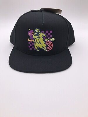 Vans Mens Nightmare Before Christmas Logo Black Snapback Hat One Size Brand New
