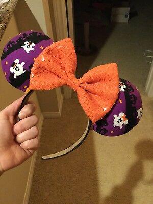 Disney Ears Minnie Ears Homemade Halloween Ghosts ](Homemade Halloween Ghosts)