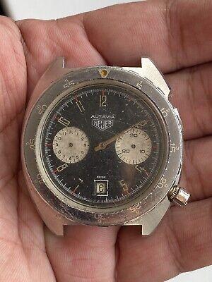 Vintage Heuer Autavia Cal: 7741 PROJECT Shauntavia Dial