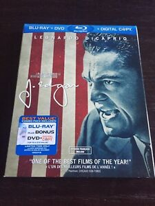 J. Edgar (Blu-ray + DVD + Digital Copy) (Bilingual)
