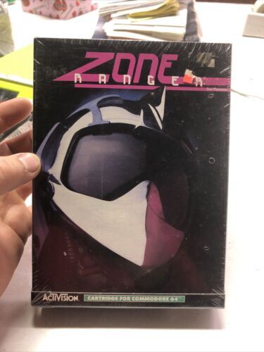Computer Games - Zone Ranger Computer Game by Activision (1984) Commodore 64, New And Sealed