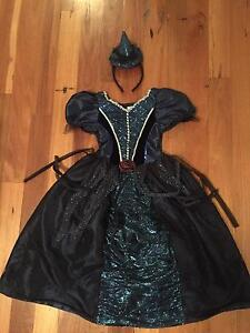 Beautiful glittery witches fancy dress with hat age 7-8 Henley Beach South Charles Sturt Area Preview