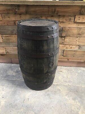 EX WHISKEY 40 GALLON OAK BARREL Wooden Keg Barrels