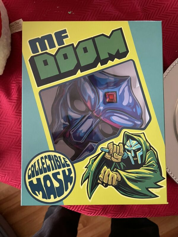 MF Doom Collectible Mask (not LP) - Sapphire Blue - NEW - SOLD OUT - #1824 Of 3k