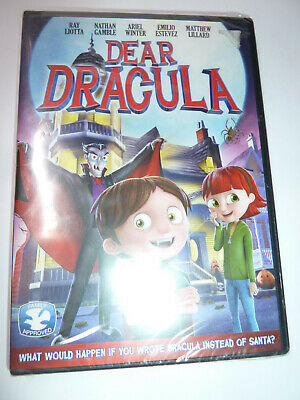 Halloween Vampire Cartoons (Dear Dracula DVD family cartoon movie vampire Halloween Ariel Winter)