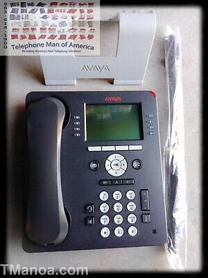 Avaya 9608 Voip Black Business Telephone 700504844 9608d02b-1009 Global Version