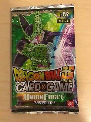 Dragon Ball Super Card Game Union Force Booster Pack TCG NEW 1 boosterPack only!