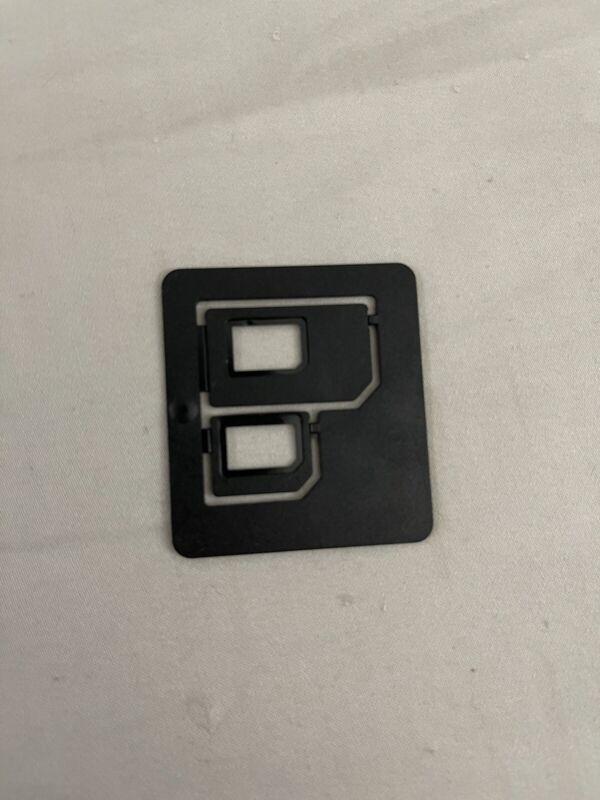 Sim Card Adapter Nano Sim To Micro Or Regular Size