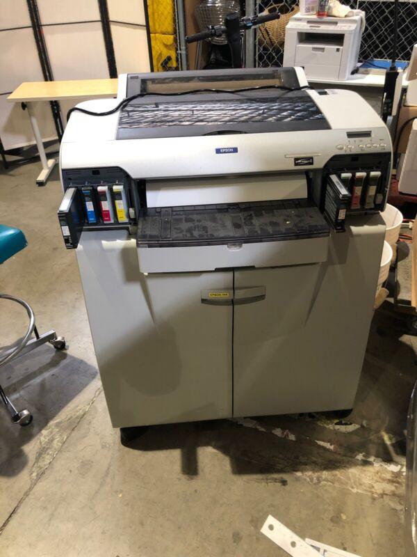 Epson Stylus Pro 4000 Large Format Color Printer.