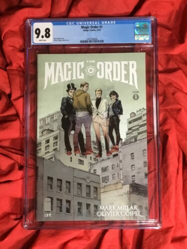 CGC 9.8~THE MAGIC ORDER #1~1st PRINT COVER A~OLIVIER COIPEL ART~NEW NETFLIX SHOW