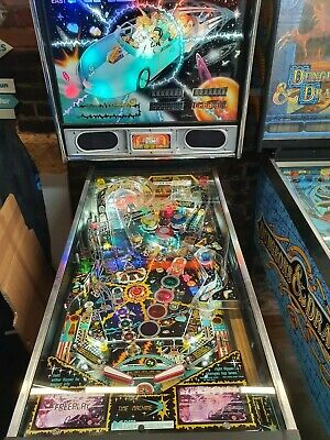 "Data east ""time machine""Pinball machine"