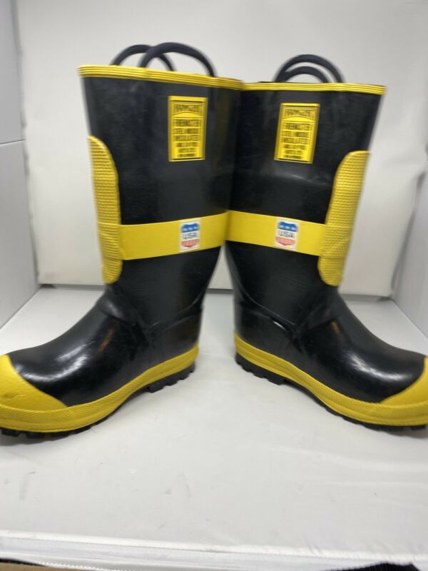 Ranger Firemaster Steel Toe Rubber Boots Men