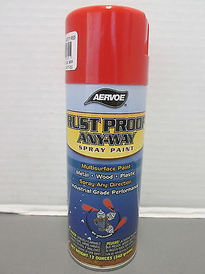 301 AERVOE SAFETY RED SPRAY PAINT Safety Red Spray
