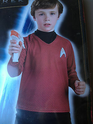Star Trek Costumes For Kids (New Star Trek Movie Scotty Costume Childs Boys Medium 8 10 for 5-7 years)