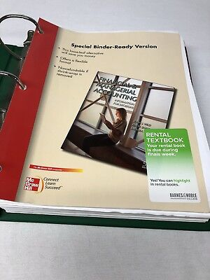 Financial and Managerial Accounting 5th Edition Binder Version