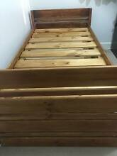 Bed, Single Pine Bunker Bed, With 6 Drawers Kew East Boroondara Area Preview