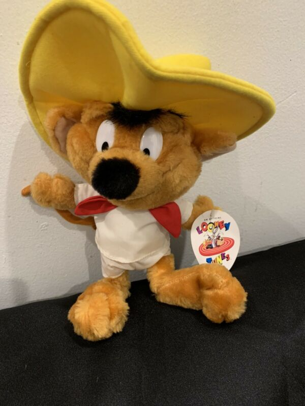 Speedy Gonzales Looney Tunes VINTAGE Plush Stuffed Animal 1994