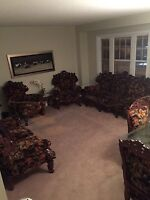 Sofa set and dining room all for $900.