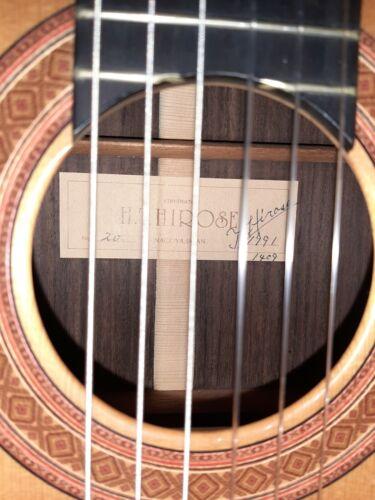 HTHirose Hirohiko Hirose Tatsuhiko No.20 1991 Classical guitar