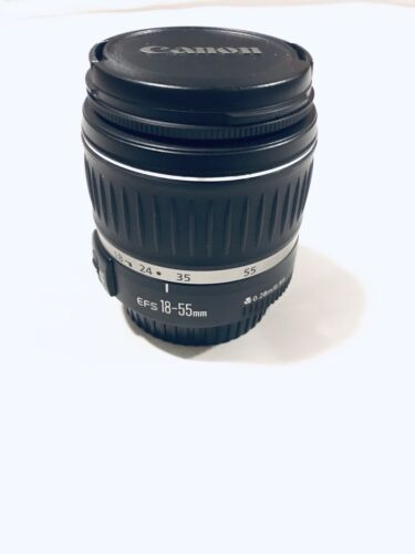 Canon 2042B002 EF-S 18-55mm F/3.5-5.6 II Lens - USED - $49.99