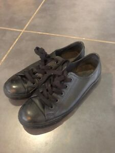 Converse black full leather