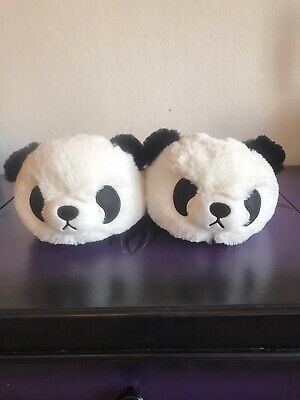 Kawaii Panda Bear Slippers Tokyo Japanese Lifestyle Size Medium Brand New Panda Bear Slippers