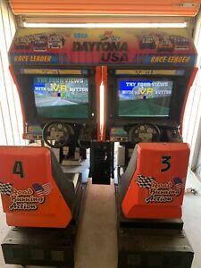 Daytona USA arcade machine jap version