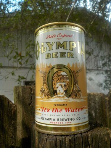 OLYMPIA  FLAT TOP OLD BEER CAN
