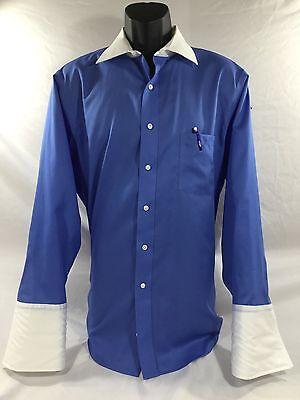 DONALD TRUMP mens NON-IRON SIGNATURE COLLECTIONS  Dress Shirt sz 16-1/2 32-33