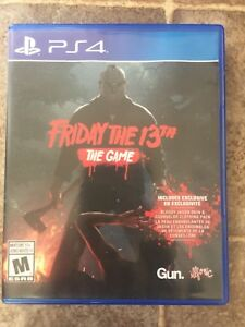 PS4 - Friday the 13th disc Game