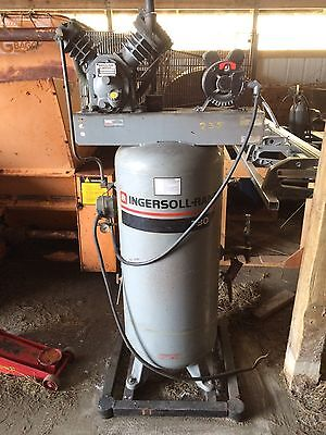 240v Ingersoll Rand T30 450 Psi Air Compressor 5hp Single Phase Ships Fob