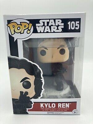 Funko Pop! Star Wars Kylo Ren #105 Force Awakens Snow Base