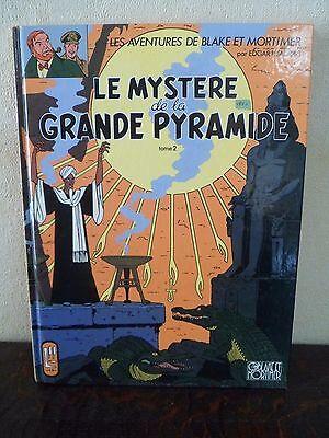 BLAKE ET MORTIMER - Le mystère de la grande pyramide - Tome 2 - Excellent état