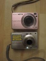 Lotto 2 Sony Cybershot Dsc-s780 + Dsc-w120. Macchine Fotografiche Digitali - sony - ebay.it