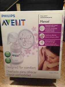 'Philips AVENT Manual Breast Pump