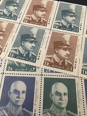 middle east, worldwide.shah, MNH, 1966, Sc#1415-18