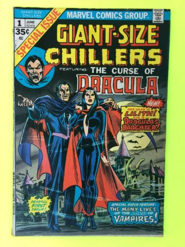 Giant-Size Chillers Curse Of Dracula #1 Marvel  1st appearance of Lilith  VG/VG+