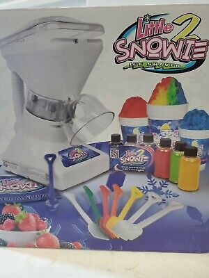 Little Snowie 2 Ice Shaver Snow Cone Shaved Ice Machine S